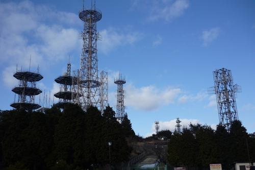 山頂のレーダー.JPG